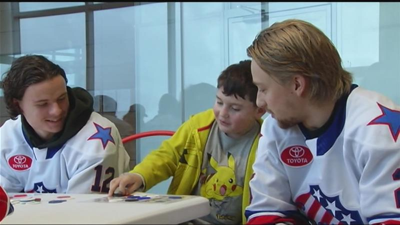 Rochester Americans trade in helmets for elf ears
