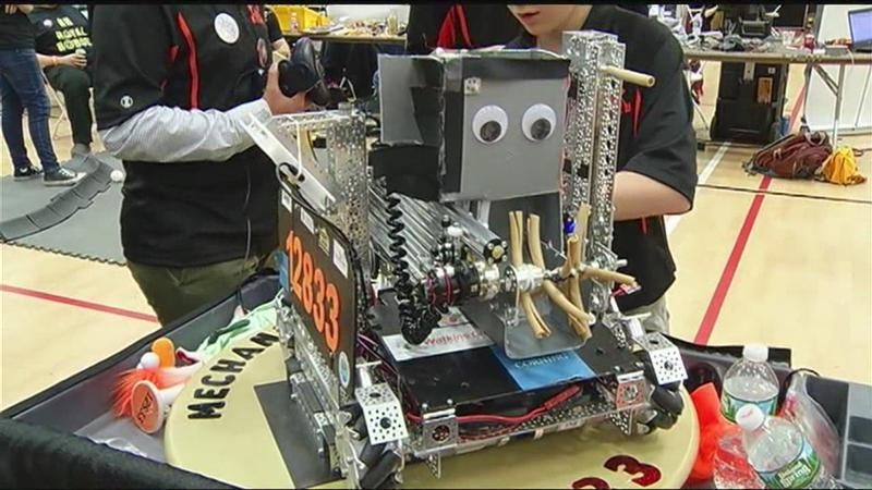 Rover Ruckus robot competition takes over St  John Fisher