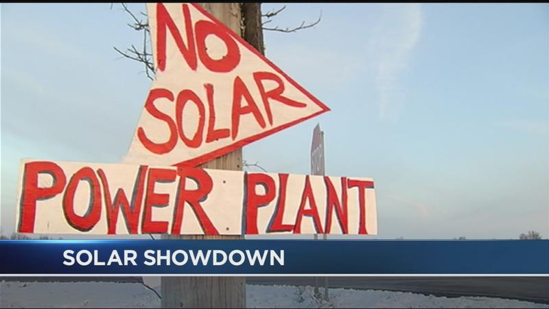 Solar showdown: Families continue fight against massive solar project