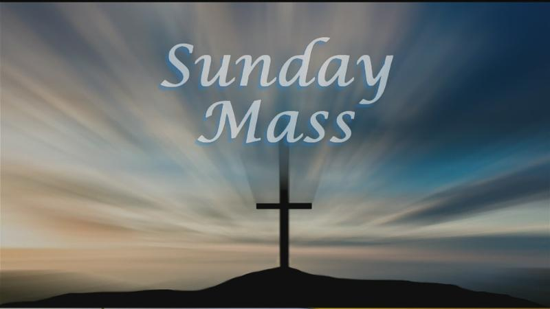 Sunday Mass for 12/23