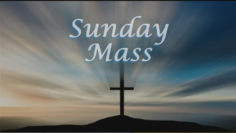 Sunday Mass for 12/30