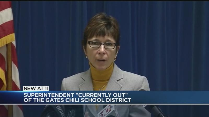 Superintendent 'currently out' of Gates Chili CSD