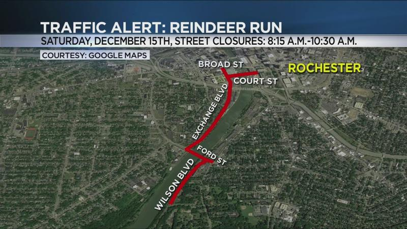 Annual Reindeer Run may affect local traffic