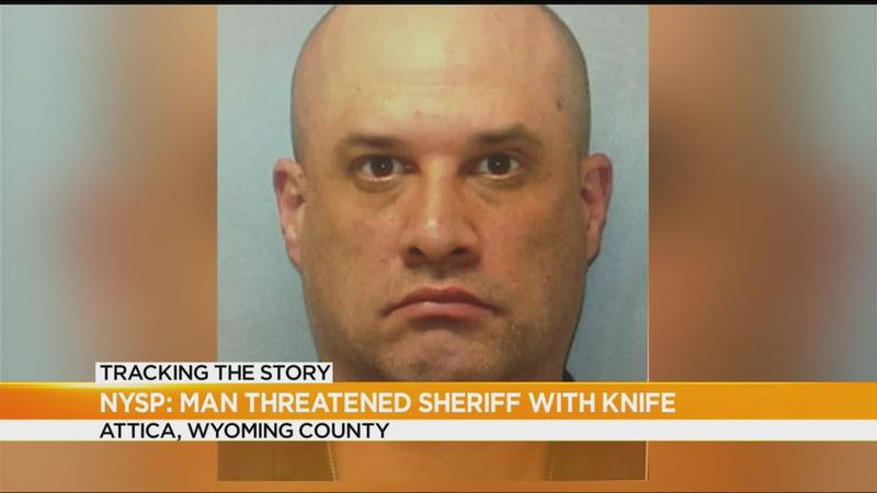 Troopers: Man threatened to kill Wyoming County sheriff