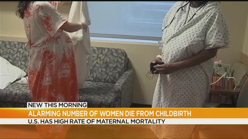 Women dying from childbirth complications at alarming rate