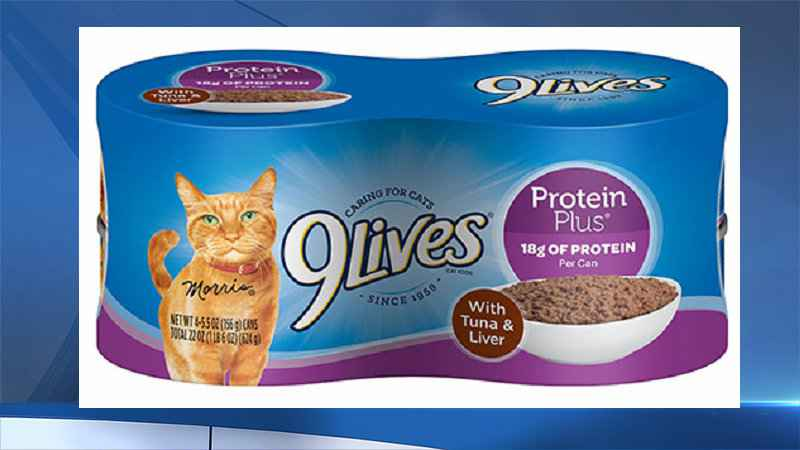 Recall Issued For Certain Types Of 9Lives Canned Cat Food