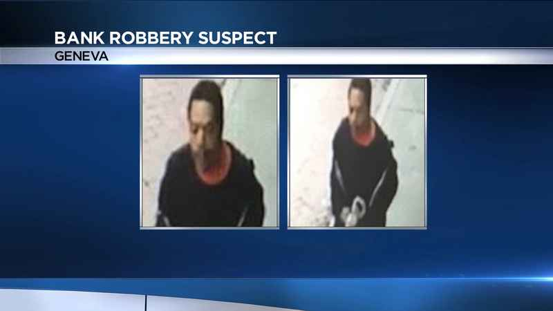 Geneva Police searching for armed bank robbery suspect