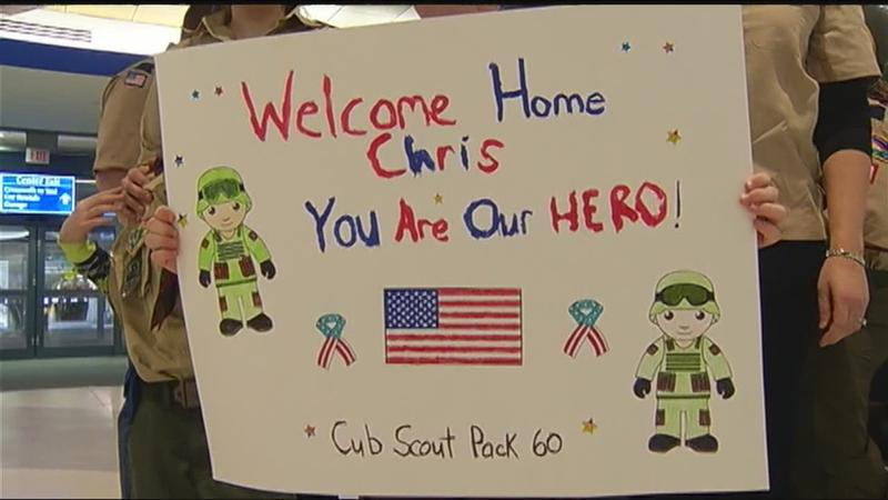 Brockport officer welcomed home from serving in Iraq