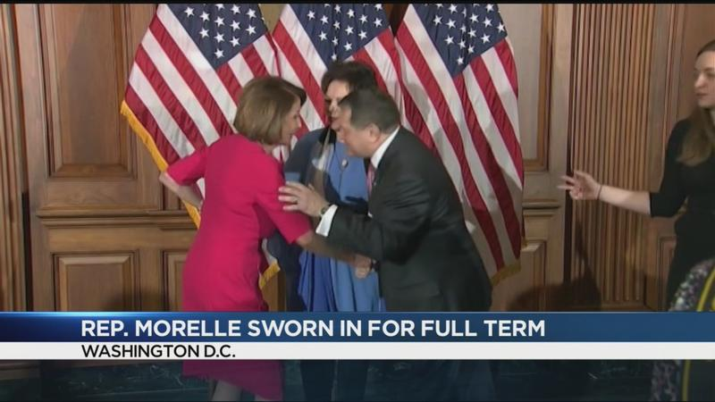 Congressman Joe Morelle sworn in for full term