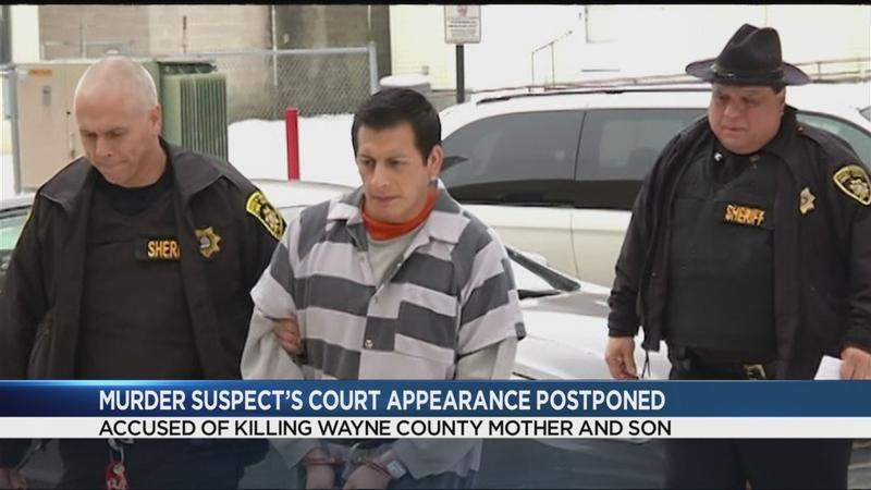 Wayne County murder suspect appears in court