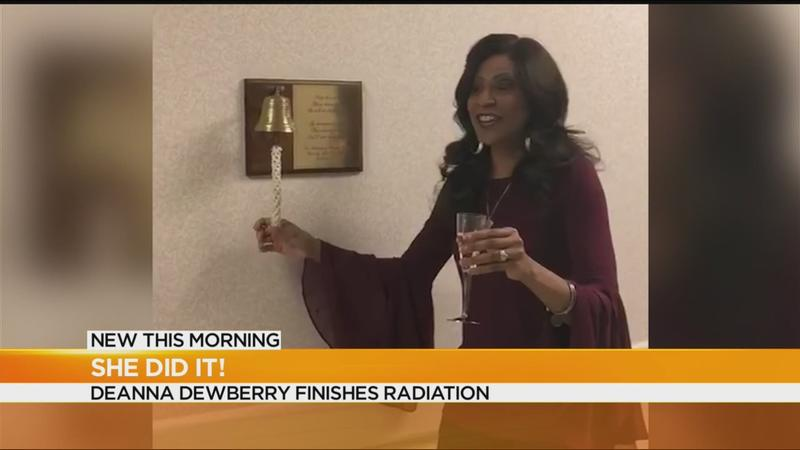 Deanna Dewberry finishes radiation