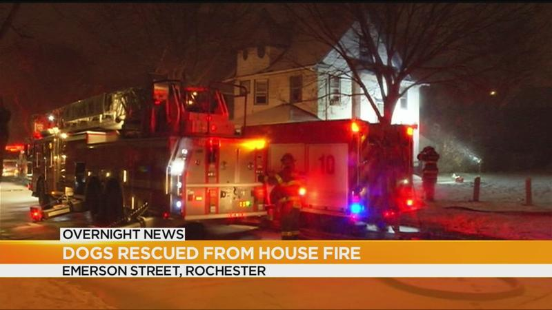 Family escapes Rochester house fire
