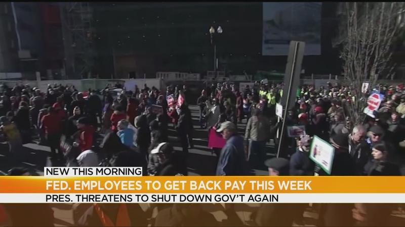 Federal employees to be paid this week