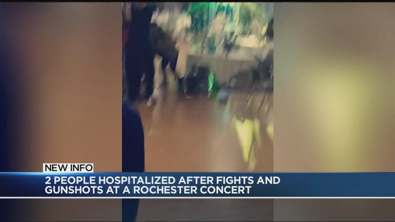 Fights, gunfire disrupt concert at local party house