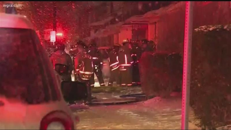 Four firefighters injured in Buffalo fire