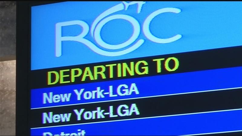 "Increase in ""sick leave"" causing flight delays; Rochester flights impacted"