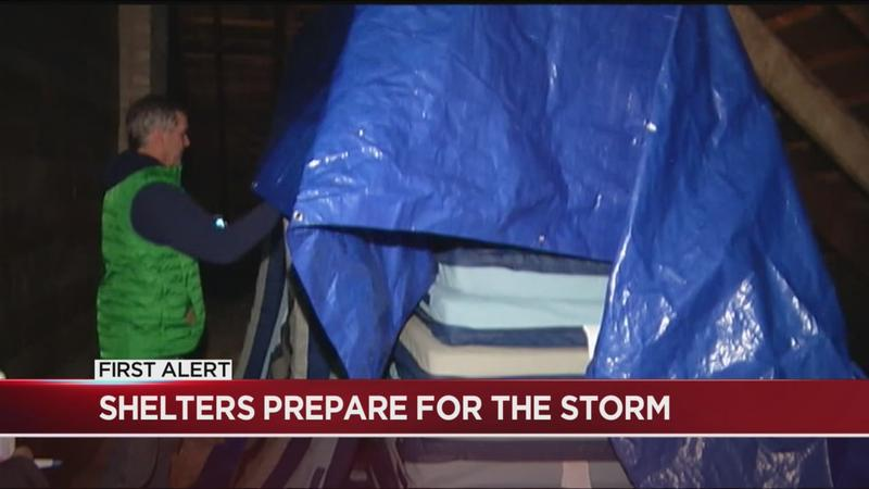 Local homeless shelters brace for surge in occupancy during winter storm
