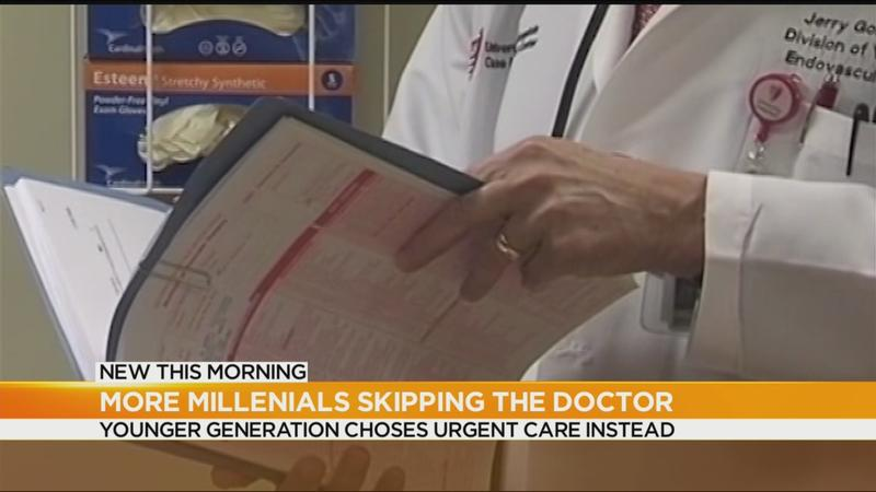 More millennials skipping doctor's visits, survey shows