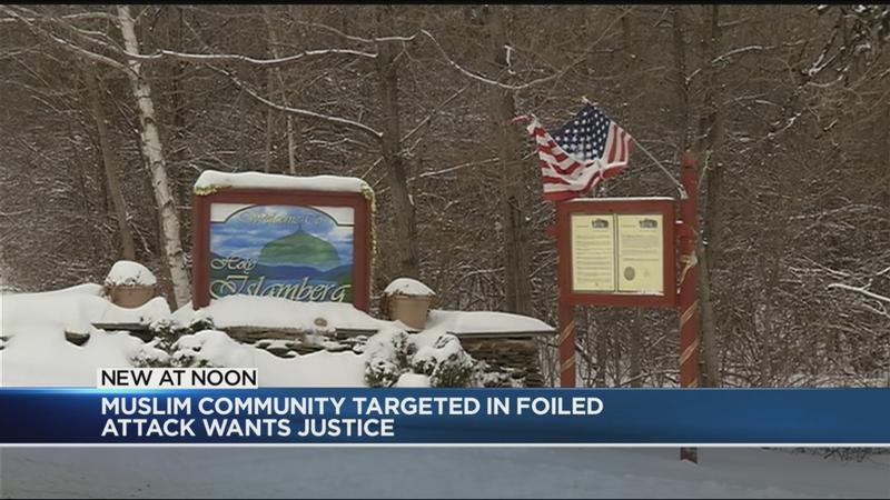 Muslim community targeted in foiled attack wants justice