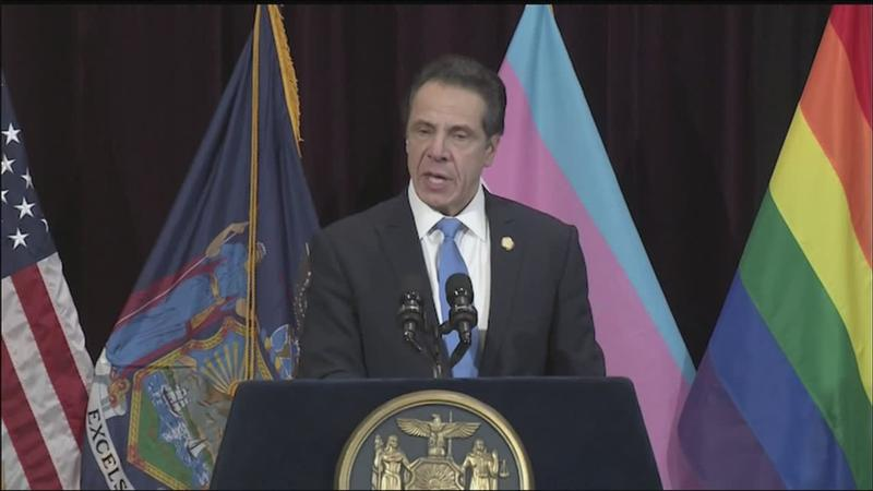 New York enacts law to ban transgender discrimination