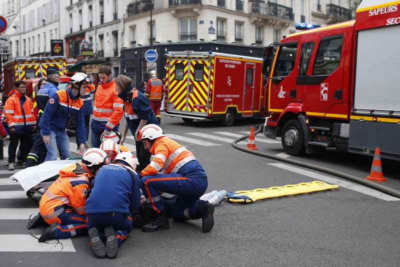 3 dead, dozens injured in Paris bakery gas leak explosion<br />