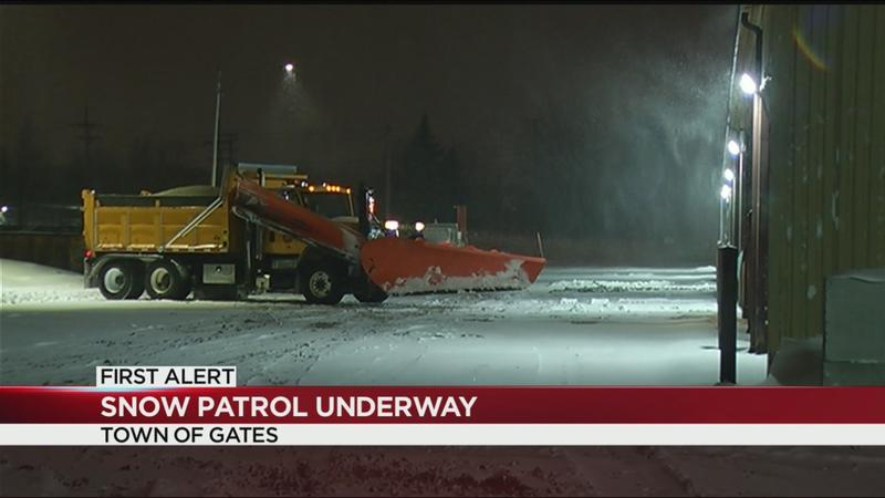 Plows take to the streets amid winter storm