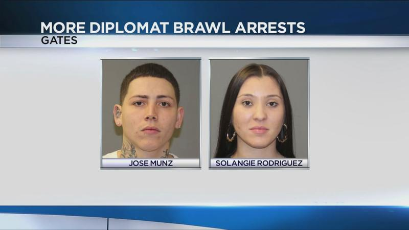 Two more charged in Diplomat brawl, shooting