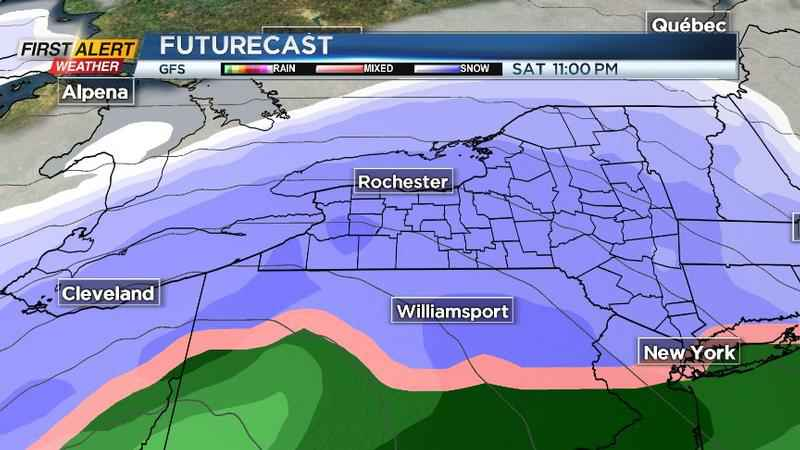 First Alert Weather: Winter storm watch issued ahead of potential major snow, wind