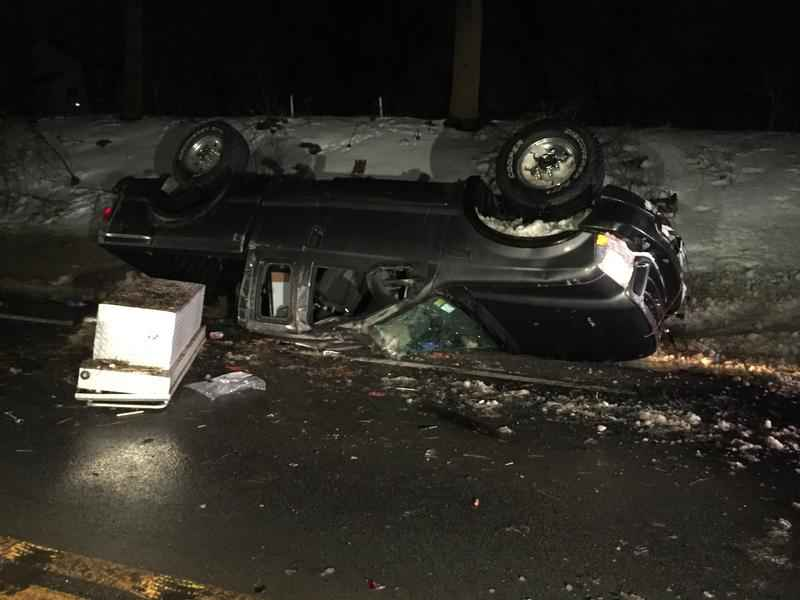 Walworth man charged with DWI after violent, rollover crash in Penfield