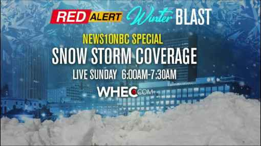 First Alert Weather: Winter storm warning issued for weekend