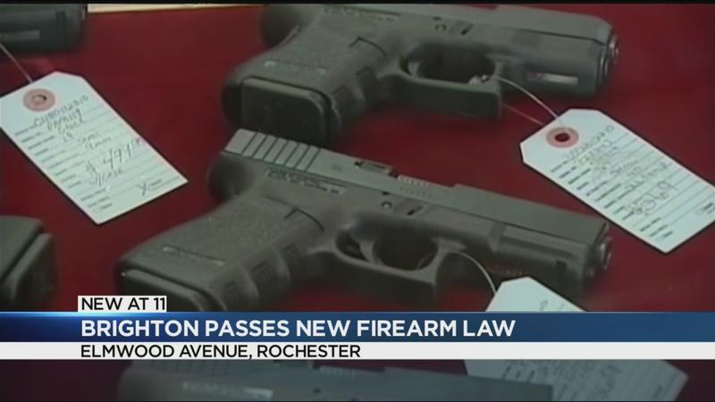 Brighton passes new firearm law