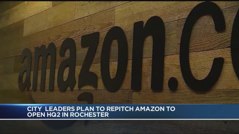 City leaders call on Amazon to reconsider Rochester