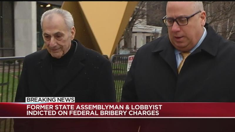 Former state assemblyman and lobbyist indicted on federal bribery charges