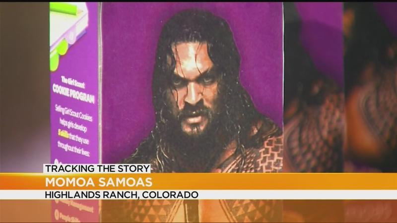 Girl Scout Creates Jason Momoa Themed Samoa Cookies Whec Com
