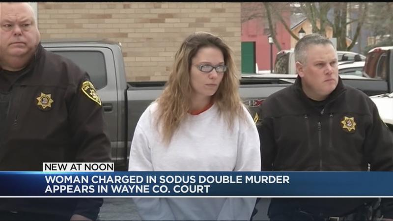 Hearing set for woman charged in Sodus double murder