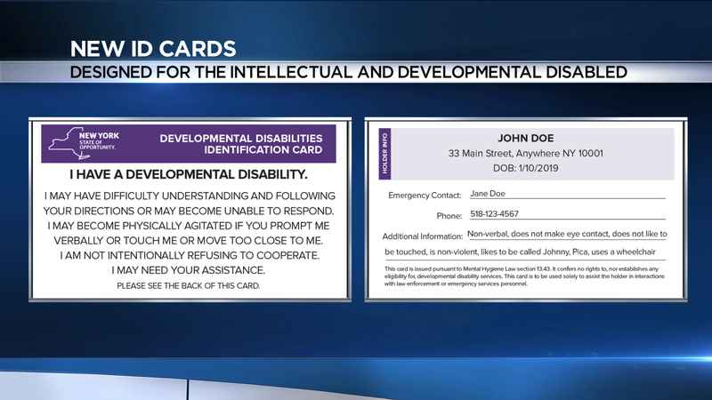 New ID cards designed for people with intellectual, developmental disabilities