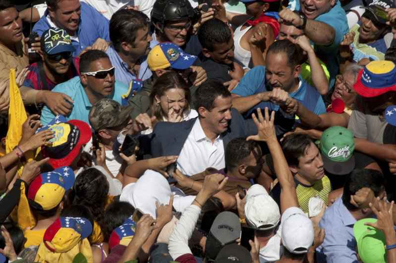 Venezuela Opposition Leader to Police: Leave My Family Alone