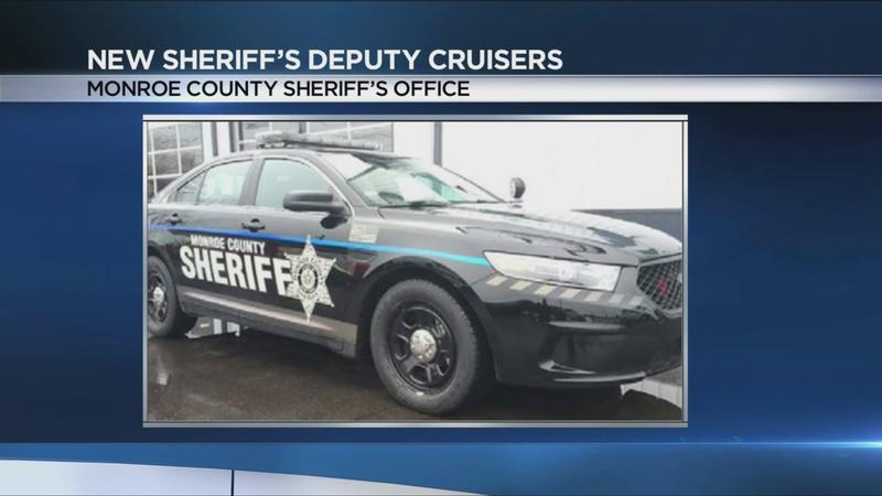 New design coming to Monroe County Sheriff's Office patrol cars