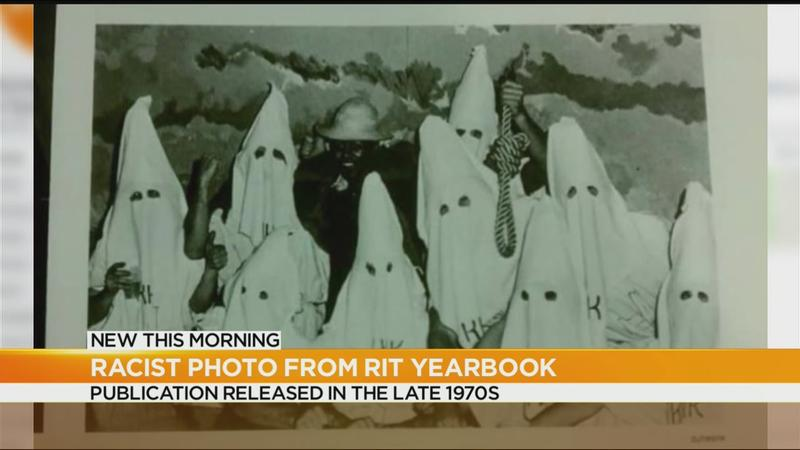RIT condemns racist photos found in old yearbooks