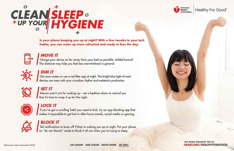 Sleep your way to a healthy body