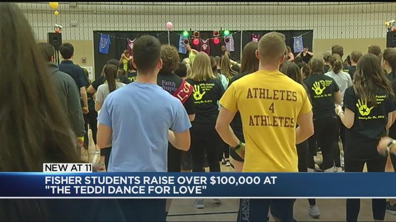 St. John Fisher raises more than $100,000 dancing for a cause