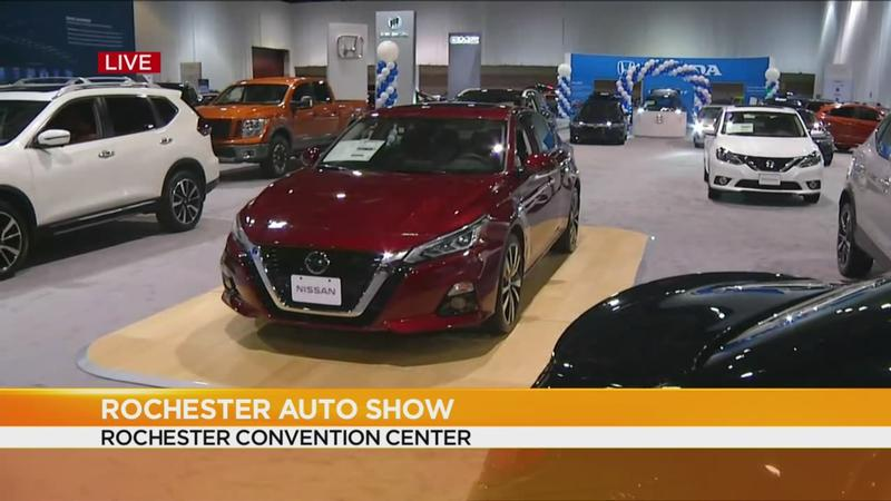 Ny Car Show >> Start Your Engines Rochester International Auto Show Starts Thursday