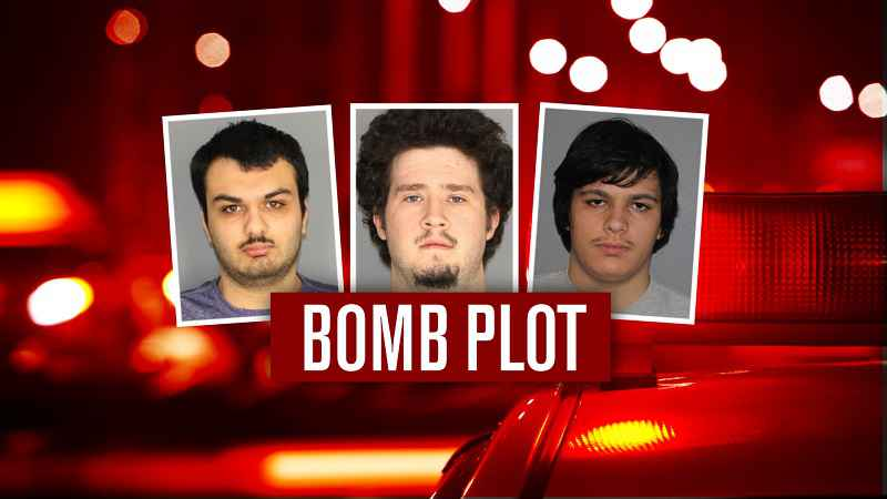 Two suspects in alleged bomb plot indicted by grand jury