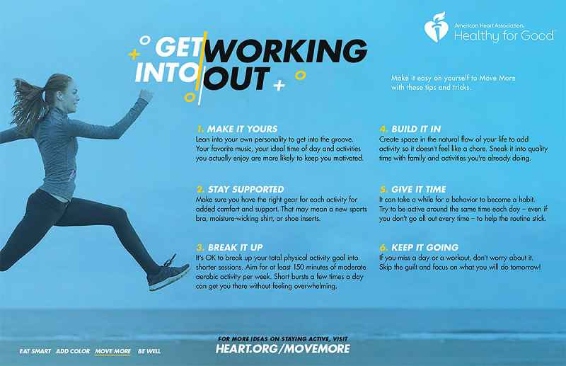 Get into working out