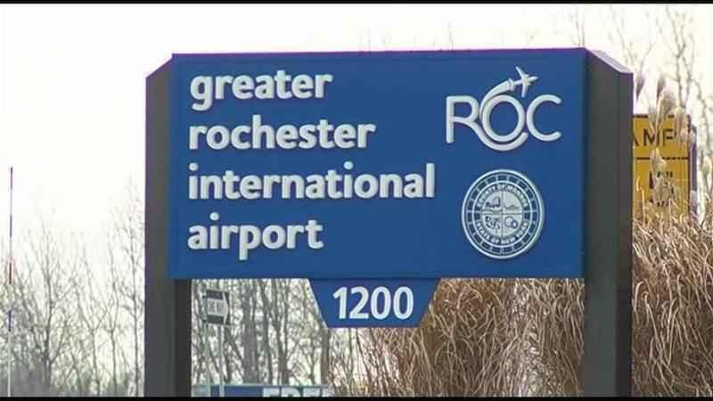 Wintry weather causing flight cancellations at ROC airport