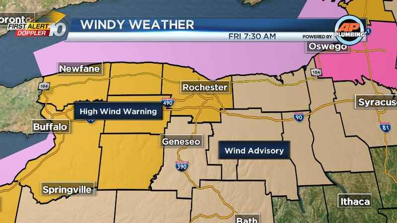 First Alert Weather: Gusty winds continue this afternoon