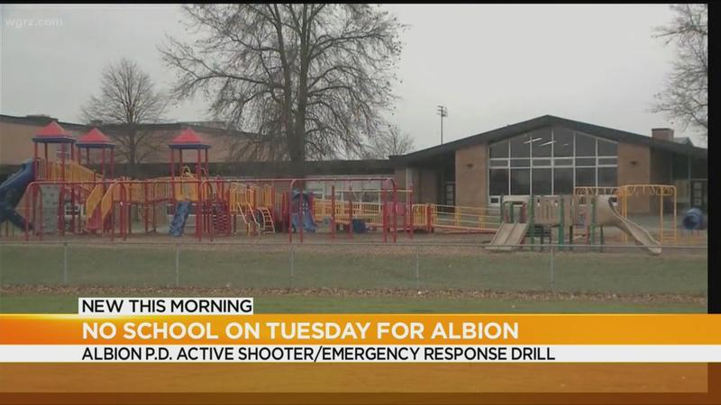 Classes canceled at Albion Central Schools Tuesday due to active shooter drill