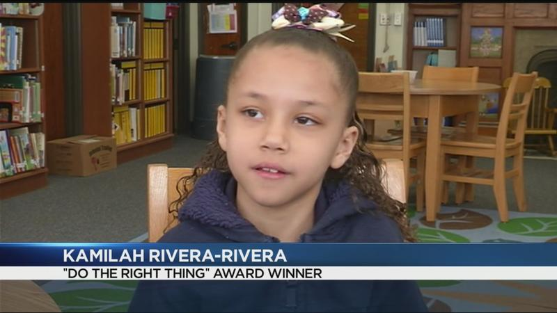 Do the Right Thing: Second-grader helps younger girl in distress