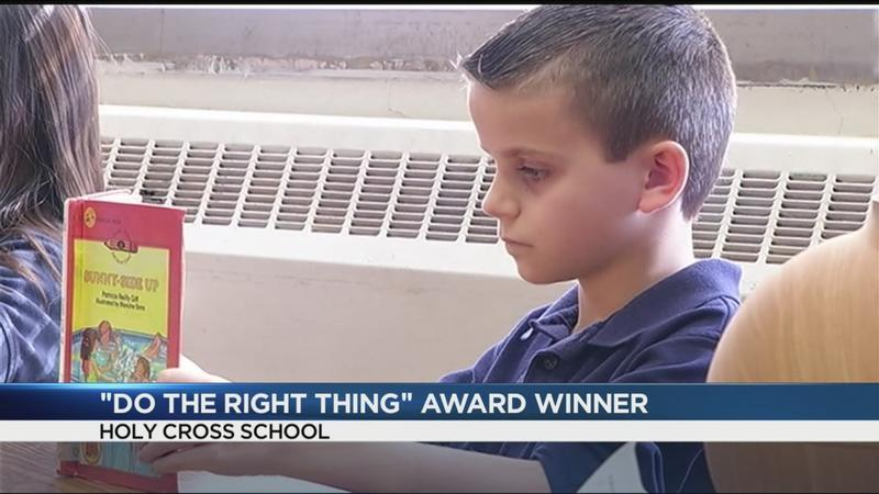 Do the Right Thing: Third-grader jumps into pool to save girl