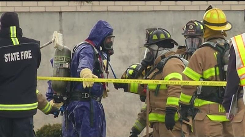 Five injured in Henrietta chemical spill